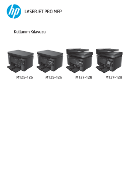 HP LaserJet Pro MFP M125-126 M127-128