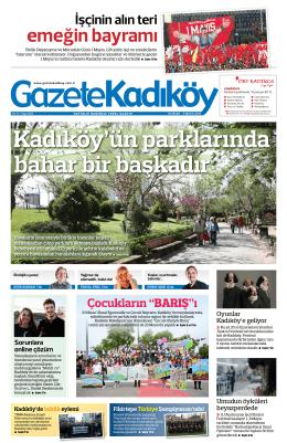 emeğin bayramı - Gazete Kadıköy