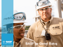 BASF`ye Genel Bakış - BASF Türk Bitki Koruma
