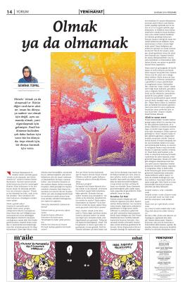 14 yorum - Yeni Hayat Gazetesi