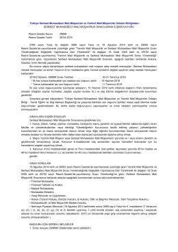 Türkiye Serbest Muhasebeci Mali Müşavirler ve Yeminli