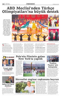 ABD Meclisi`nden Türkçe Olimpiyatları`na büyük destek