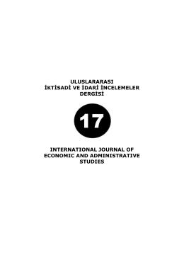 Bu PDF dosyasını indir - DergiPark