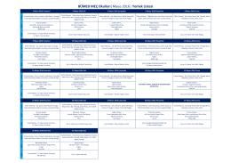BÜMED MEÇ Okulları  Mayıs 2016   Yemek Listesi