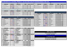 halı saha futbol turnuvası (akademik) müsabaka