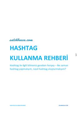 hashtag kullanma rehberi