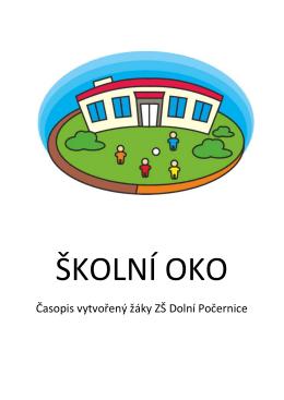 Časopis vytvořený žáky ZŠ Dolní Počernice