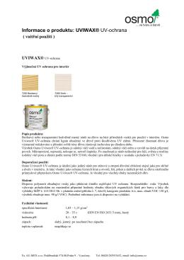 Uviwax® UV-Protection