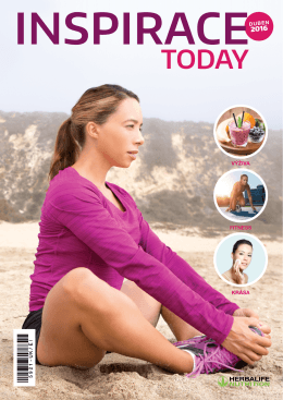 Stáhnout Inspiraci - Herbalife Today Magazine