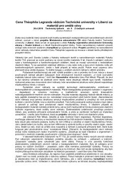 Cena Théophila Legranda vědcům Technické
