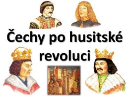 Čechy po husitské revoluci