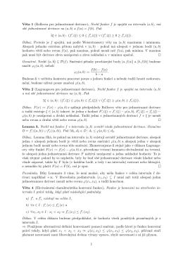 Ekvivalentní charakteristika konvexnosti