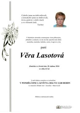 Věra Lasotová