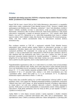 Reakce TOP 09 na zveřejněný dopis A. Babiše