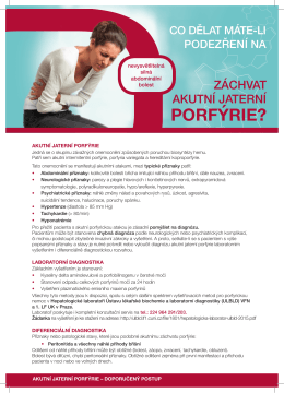 porfýrie? - sympozia.cz