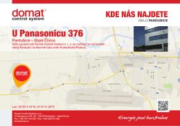 U Panasonicu 376 - Domat Control System