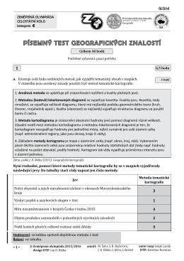 kategorie C test řešení