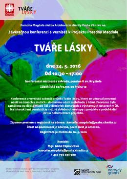 TVáře Lásky - Arcidiecézní charita Praha