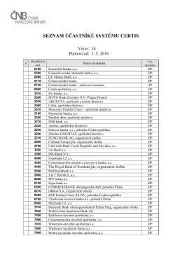 pdf, 120 kB - Česká národní banka