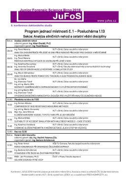 Program - JuFos