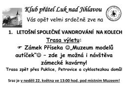 Klub přátel Luk nad Jihlavou