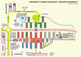 university campus bohunice - masaryk university hospital