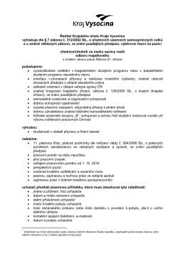 Úřednice/úředník na úseku správy realit odboru