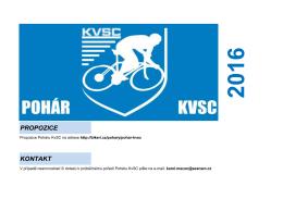 výsledky Poháru KVSC v MTB 2016 po 2. závodě