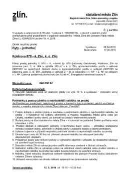 vyvěšení - přímý prodej Kotěrova 870-4