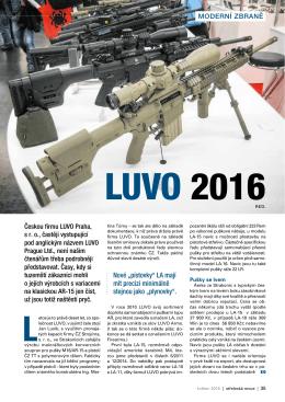 LUVO 2016 - Střelecká Revue