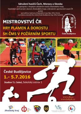 1.- 5.7.2016 MISTROVSTVÍ ČR