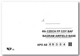 6th CZECH FP COY BAF BAGRAM AIRFIELD BASE APO AE 0 9 3 5 4