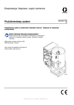3A3077E, Podciśnieniowy system do piaskowania