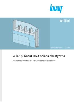 W145.pl Knauf DIVA ściana akustyczna W145.pl