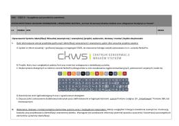 Opracowanie Systemu Identyfikacji Wizualnej wewnętrznej i