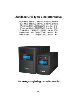 Zasilacz UPS typu Line Interactive