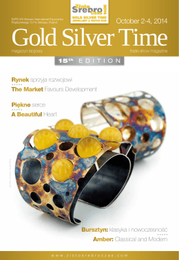 October 2-4, 2014 - Gold Silver Time