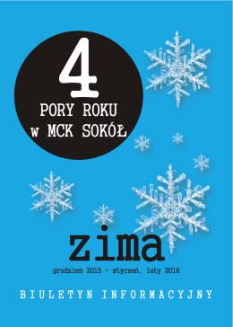 Cztery pory Roku w MCK SOKÓŁ - Małopolskie Centrum Kultury