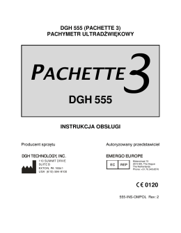 pachette 3 - DGH Technology