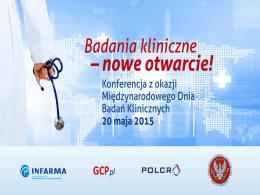 Nowy model oceny etycznej badań klinicznych w Polsce
