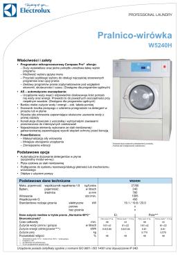 Pralnico-wirówka W5240H - Ultra