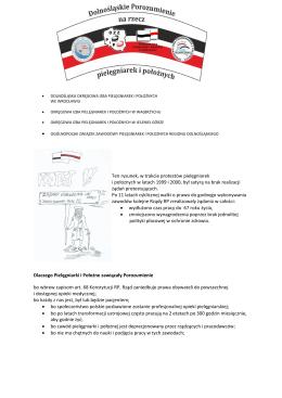Ulotka informacyjna dla pacjentów - Okręgowa Izba Pielęgniarek i