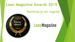 Loan Magazine Awards 2015 - Loan