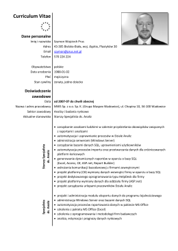 Pobierz moje CV