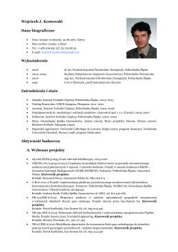 CV (CV_PL2015) - Eksperci