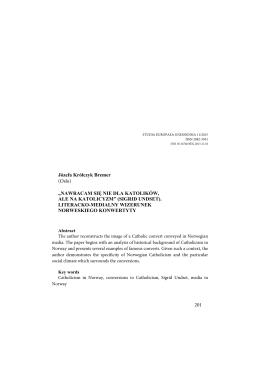 201 Józefa Królczyk Bremer - Studia Europaea Gnesnensia