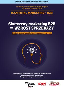 Skuteczny marketing B2B = WZROST SPRZEDAŻY