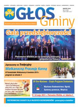 Marzec 2015.nr1 - Gmina Pietrowice Wielkie