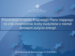 13. Krajowy Plan-T.Gałązka