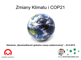Zmiany klimatu 2015